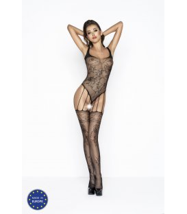 Passion - Bodystocking BS034, Black