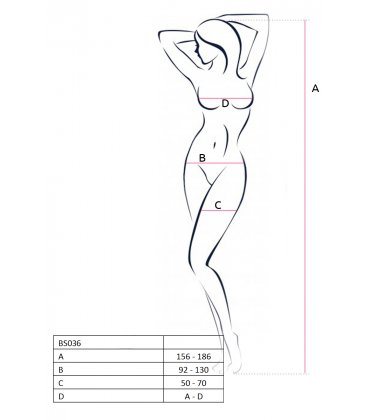 Passion - Bodystocking BS036