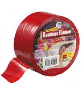 Bondage Ribbon - röd