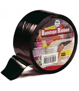 Bondage Ribbon - svart