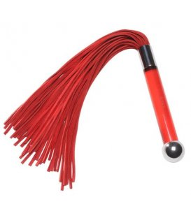 Lelo Sensua Suede Whip, Red