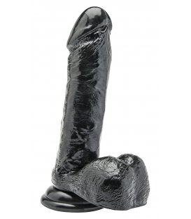 Get Real - 7 Inch Dildo, Black
