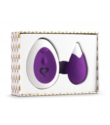 FeelzToys - Anna Vibrating Egg Remote, Purple